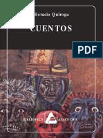 10495862 Horacio Quiroga Cuentos