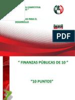 Finanzas publicas de 10