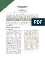 JURNAL Manajemen Strategi Perusahaan
