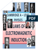 Chapter 23 Laws of Electromagnetic Induction