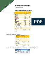 Informe Nº3. Elaboracion de Pan de Maiz
