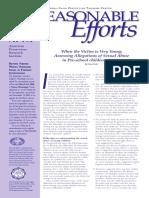 Reasonable Efforts Vol 2 No 4 2005