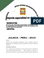 Especialidad Monitoreo Fetal Intraparto.docx Magda