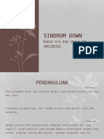 Ppt Referat SINDROM DOWN Ratih