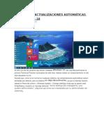 Desactivar Actualizaciones Automáticas en Windows 10