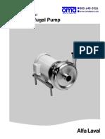 Alfa Laval LKH Pump Manual