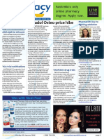 Pharmacy Daily for Mon 04 Jan 2016 - Pharmacy Guild of Australia, Panadol Osteo price increase, pharmacists to help fight battle against opiate addiction, Tagrisso trials and more