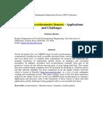 Low Cost Accelerometer Sensors