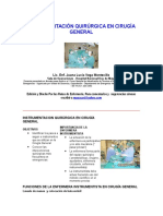 Instrumentación Quirúrgica en Cirugía General