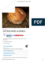 Pan Holandés Al Horno  - Barcelona Alternativa