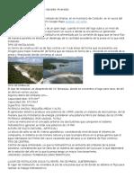 Presa Sanolana ,Hidroelectric Salvador Alvarado