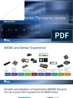 MEMS and Sensors Update, Russel Shumway, Mar 5 2015