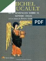 7 Sentencias Sobre El Séptimo Ángel [Michel Foucault]