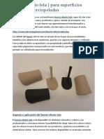 Barniz efecto tela | para superficies suaves y aterciopeladas