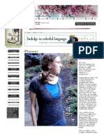 Pioneer Top - Knitty, Spring 2009
