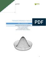 Transformada Wavelet Reporte