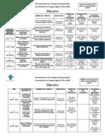 Presentaciones Trabajos Recepcionales Lengua Inglesa 4 -5 ENERO 16 Versión Final