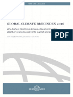 Global Climate Risk Index 2016