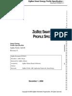 Zigbee Smart Energy Profile Specification