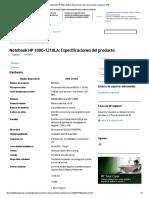 Notebook HP 1000-1210LA