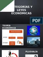 Categorías y Leyes Económicas