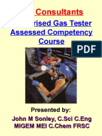 Authorised Gas Tester Train-The-Trainer Course - Portrait -