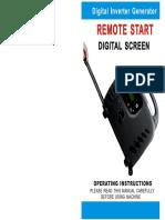 Digital Inverter Generator Manual