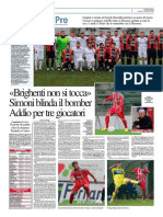 La Provincia Di Cremona 03-01-2016 - Calcio Lega Pro