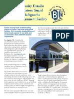 New B.I.G. Custom Guard Booth Model Safeguards Sensitive Government Facility
