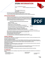 Pre Application Information