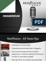 Rediffusion Profile PPT