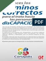 Terminos Correctos Sobre Discapacidad