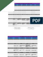Calendar of Activity - KSR