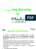 PRIMOTECH - Lighting Services