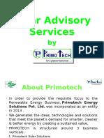 PRIMOTECH - Solar Advisory Services
