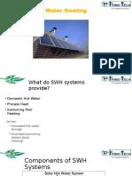 PRIMOTECH - Solar Water Heater