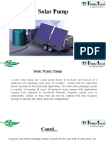 PRIMOTECH - Solar Water Pumping Systems