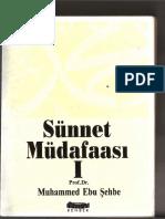 Ebu Şehbe-Sünnet Mudafaasi (1-2)