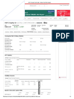 HDFC Equity Fund Growth Mutual Fund Risk Analysis
