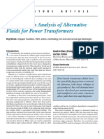 5.Dissolved Gas Analysis (DGA) of Alternative Fluids for Power Transformers