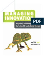 Managing Innovation Chapter 1