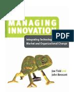 Managing Innovation Chapter 1