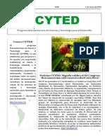 Boletín Cyted Nº28 2015 Web