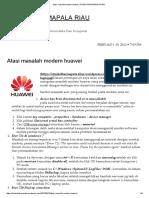 Atasi Masalah Modem Huawei _ STMIK DHARMAPALA RIAU