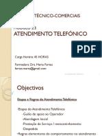 1291136942 Prticas Tecnico Comerciais Atendimento Telefnico