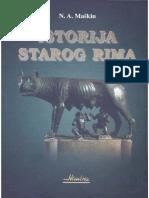 Istorija Starog Rima - N. a. Maškin
