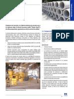 Requerimientos para tubos de hormigón