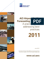 ACI Airport Traffic Forecasting Manual 2011
