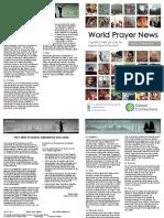 World Prayer News - January/February 2016