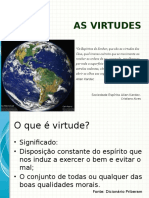 As Virtudes - Palestra Espírita